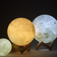 SALE! Galaxy Planet Moon 3D Light