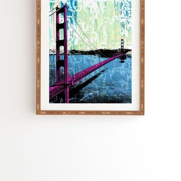 Amy Smith Golden Gate Framed Wall Art