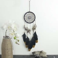 Sarai Feather Handmade Dream Catcher