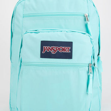 Jansport Big Student Backpack Aqua Dash One Size For Women 26892324001