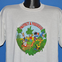 90s Kellog's Cereal Mascots t-shirt Extra Large