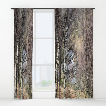 The solace of nature Window Curtains by anipani