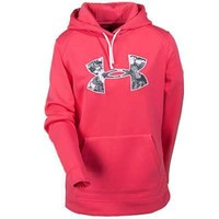 Under Armour Sweatshirts: Women's Pink ColdGear Hooded Sweatshirt 1220690 854