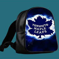 Toronto maple leafs NHL Champion for Backpack / Custom Bag / School Bag / Children Bag / Custom School Bag *