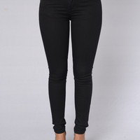 Can't Resist Jeans - Black