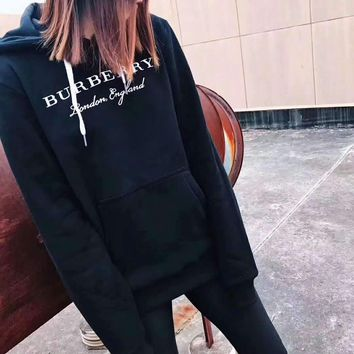 Burberry High Quality Trending Long Sleeve Print Pullover Hoodie Sweater G-A-HRWM