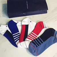 Tommy Hilfiger: A box of five pairs of socks