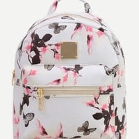 Butterfly mini fashion backpack