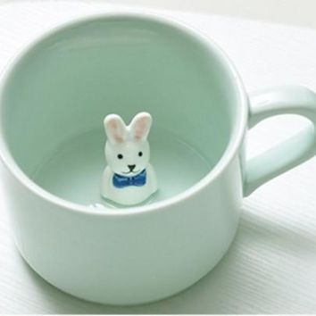 Creative Cartoon Ceramic Mugs