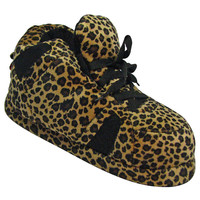 Snooki Signature Leopard Print Slippers : Snooki : Happy Feet Slippers : BuyHappyFeet.com : snookislippers.com