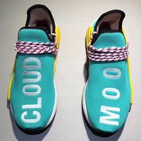 Adidas Human Race Nmd Trending Women Men Casual Sport Running Shoe Sneakers I