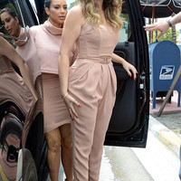 Pencil Jumpsuit inspired by Khloe Kardashian