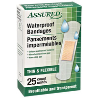 Bulk Assured Waterproof Bandages, 25-ct. Packs at DollarTree.com