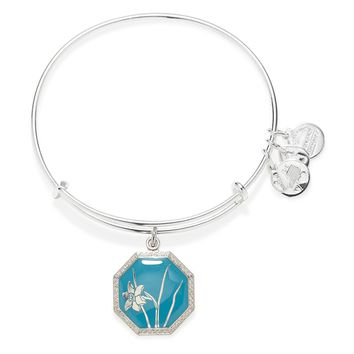 Truth And Honor Narcissus Charm Bangle
