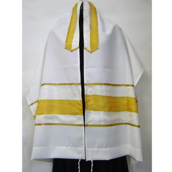 Prayer Shawl Tallit Yellow