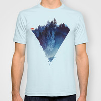 Near to the edge T-shirt by Robert Farkas
