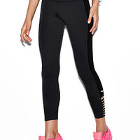 Ankle Cotton Strappy Legging - PINK - Victoria's Secret