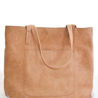 Olivia Carry All Tote In Camel