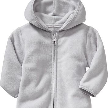 Old Navy Performance Fleece Zip Front Hoodie For Baby