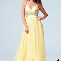 Mac Duggal 64688 Lemon 2