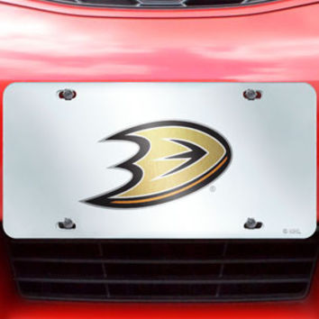 NHL Team License Plate Inlaid