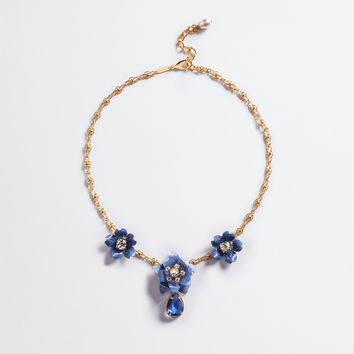 Women's Runway Collection SS 2017 | Dolce&Gabbana - NECKLACE WITH FLORAL ACCENTS