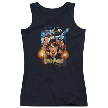 Harry Potter - Movie Poster Juniors Tank Top Officially Licensed Apparel