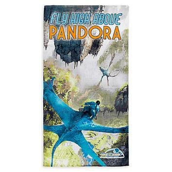 Disney Parks Walt Disney World Pandora The World of Avatar Beach Towel New