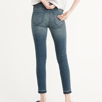 Womens Low-Rise Ankle Jeans | Womens Bottoms | Abercrombie.com