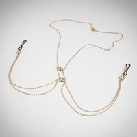 Sylvie Monthule Secret River Necklace with Nipple Clamps