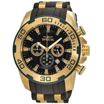 Invicta Pro Dive Chronograph Black Dial Mens Watch 22347