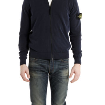 Stone Island Mock Zip Sweater