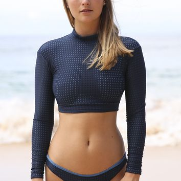 ACACIA Swimwear 2018 Indo Mesh Top in Catch of the Day