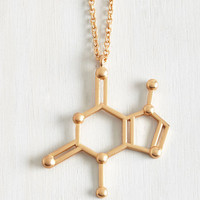 Quirky Structural Sweetness Necklace by ModCloth