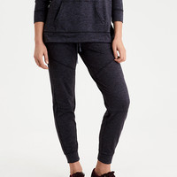 AEO Lightweight Fleece Jogger, Dark Gray