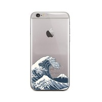 Japanese Wave iPhone 6 Plus / 6S Plus Case Clear