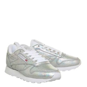 **Classic Leather Trainers by Reebok - Shoes