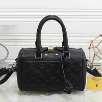 Louis Vuitton Women Fashion Leather Satchel Shoulder Bag Handbag Crossbody-20