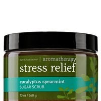 Sugar Scrub Stress Relief - Eucalyptus Spearmint