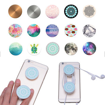 New Universal Phone Holder Air Expanding Stand and Grip Pop Socket Mount For Smartphones and Tablets