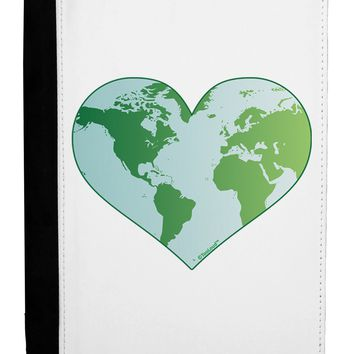 World Globe Heart Ipad Mini Fold Stand  Case by TooLoud