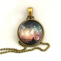10% SALE Necklace Firework Live Pendant Necklaces,Constellation,Gift For Her