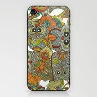 4 Owls iPhone & iPod Skin by Valentina | Society6