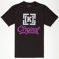 Kr3w Original 4 Mens T-Shirt Black  In Sizes