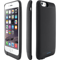 "Ibattz Iphone 6 4.7"" Refuel Invictus 3200mah Battery Charger Case (black)"
