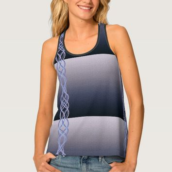 Purple Lights Tank Top
