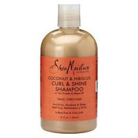 SheaMoisture Coconut & Hibiscus Shampoo- 13oz