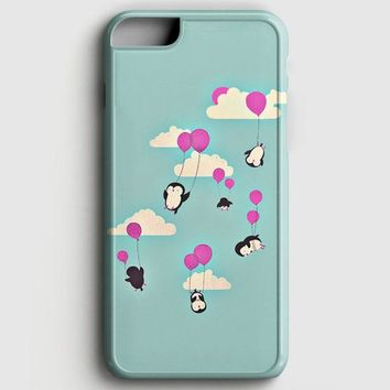 Cute Penguines And Baloons iPhone 6 Plus/6S Plus Case