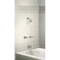 MOEN, Adler 2-Handle Tub and Shower Faucet in Chrome, 82402 at The Home Depot - Mobile