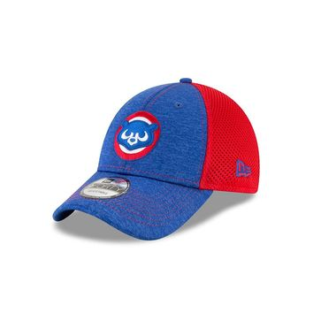 Mens Chicago Cubs 1984 Bear Logo Shadow Turn Adjustable Hat By New Era